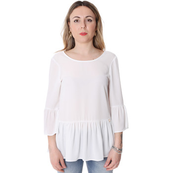 Υφασμάτινα Γυναίκα Μπλούζες Fracomina FR20SP040 λευκό