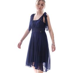 Υφασμάτινα Γυναίκα Κοντά Φορέματα Fracomina FR20SP599 Μπλε