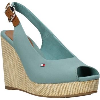 Παπούτσια Γυναίκα Σανδάλια / Πέδιλα Tommy Hilfiger FW0FW04789 Πράσινος