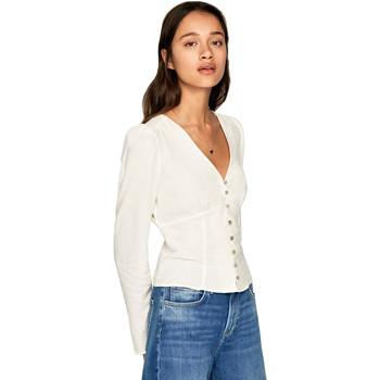 Υφασμάτινα Γυναίκα Πουκάμισα Pepe jeans PL303664 Μπεζ