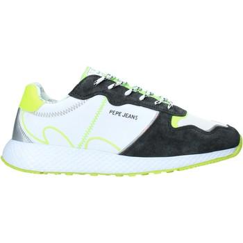Παπούτσια Γυναίκα Χαμηλά Sneakers Pepe jeans PLS30997 λευκό