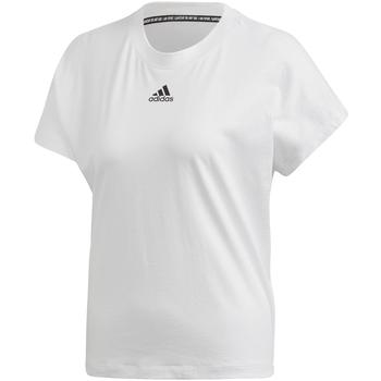 Υφασμάτινα Γυναίκα T-shirt με κοντά μανίκια adidas Originals FL4167 λευκό