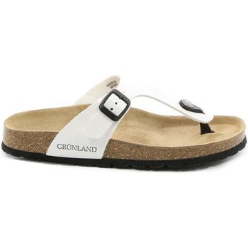 Παπούτσια Γυναίκα Σαγιονάρες Grunland CB0025 λευκό