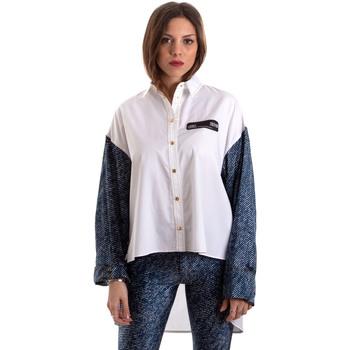 Υφασμάτινα Γυναίκα Πουκάμισα Versace B0HVB606S0683904 λευκό