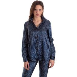 Υφασμάτινα Γυναίκα Πουκάμισα Versace B0HVB601S0683904 Μπλε