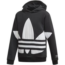 Υφασμάτινα Παιδί Φούτερ adidas Originals FS1857 Μαύρος