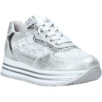 Παπούτσια Κορίτσι Χαμηλά Sneakers Nero Giardini E031460F Ασήμι