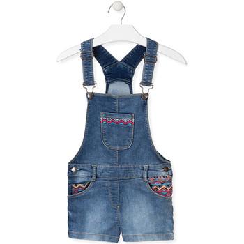 Υφασμάτινα Παιδί Ολόσωμες φόρμες / σαλοπέτες Losan 014-6017AL Μπλε