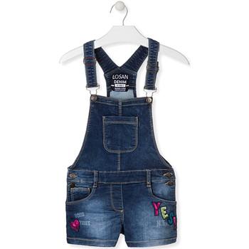 Υφασμάτινα Παιδί Ολόσωμες φόρμες / σαλοπέτες Losan 014-6027AL Μπλε
