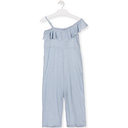 Υφασμάτινα Κορίτσι Ολόσωμες φόρμες / σαλοπέτες Losan 014-7022AL Μπλε