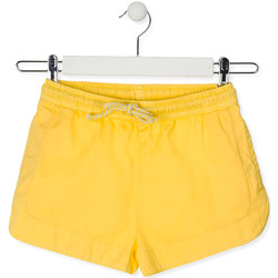 Υφασμάτινα Παιδί Σόρτς / Βερμούδες Losan 014-9007AL Κίτρινος