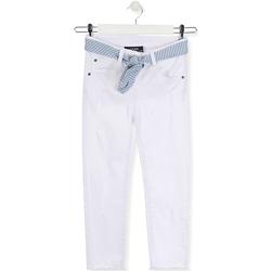 Υφασμάτινα Παιδί Skinny Τζιν  Losan 014-9011AL λευκό