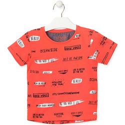 Υφασμάτινα Παιδί T-shirt με κοντά μανίκια Losan 015-1003AL Πορτοκάλι