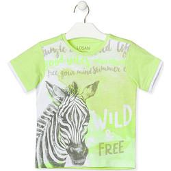Υφασμάτινα Παιδί T-shirt με κοντά μανίκια Losan 015-1011AL Πράσινος
