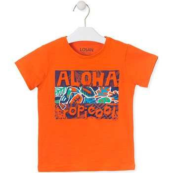 Υφασμάτινα Παιδί T-shirt με κοντά μανίκια Losan 015-1025AL Πορτοκάλι