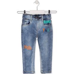 Υφασμάτινα Παιδί Skinny Τζιν  Losan 015-6022AL Μπλε