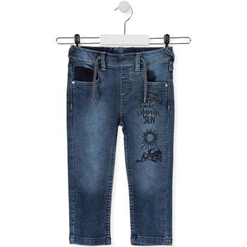 Υφασμάτινα Παιδί Skinny Τζιν  Losan 015-6023AL Μπλε