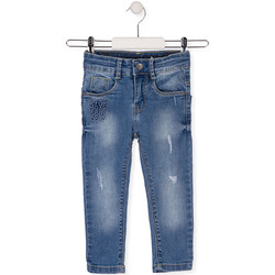 Υφασμάτινα Παιδί Skinny Τζιν  Losan 015-9008AL Μπλε