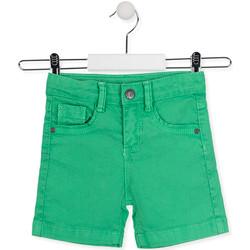 Υφασμάτινα Παιδί Σόρτς / Βερμούδες Losan 015-9009AL Πράσινος