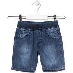 Υφασμάτινα Παιδί Σόρτς / Βερμούδες Losan 015-9659AL Μπλε
