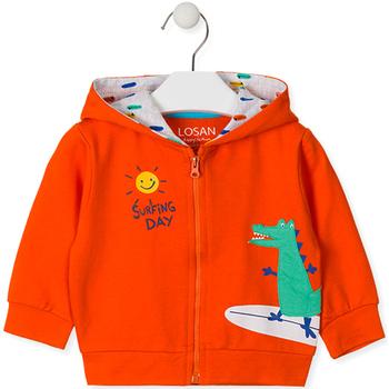 Υφασμάτινα Παιδί Φούτερ Losan 017-6026AL Πορτοκάλι