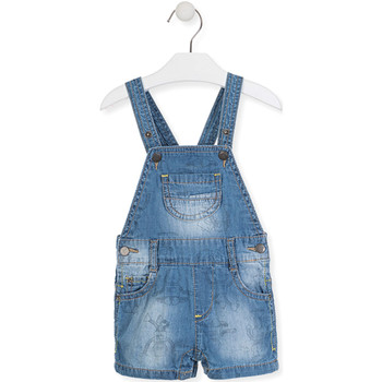 Υφασμάτινα Παιδί Ολόσωμες φόρμες / σαλοπέτες Losan 017-9006AL Μπλε