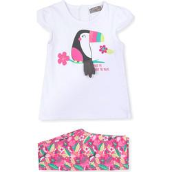 Υφασμάτινα Παιδί Κοστούμια και γραβάτες  Losan 018-8006AL λευκό