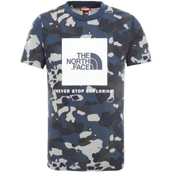 Υφασμάτινα Παιδί T-shirt με κοντά μανίκια The North Face NF0A3BS2M7Z1 Μπλε