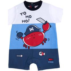 Υφασμάτινα Αγόρι Ολόσωμες φόρμες / σαλοπέτες Chicco 09050813000000 Μπλε