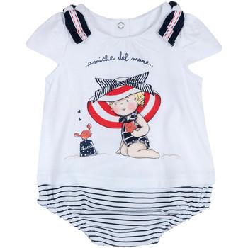 Υφασμάτινα Κορίτσι Ολόσωμες φόρμες / σαλοπέτες Chicco 09050711000000 λευκό
