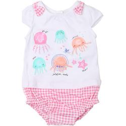 Υφασμάτινα Κορίτσι Ολόσωμες φόρμες / σαλοπέτες Chicco 09050812000000 λευκό