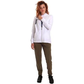 Υφασμάτινα Γυναίκα Σετ από φόρμες Key Up 5G40T 0001 λευκό