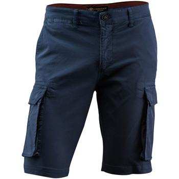 Υφασμάτινα Άνδρας Σόρτς / Βερμούδες Lumberjack CM80747 002 602 Μπλε