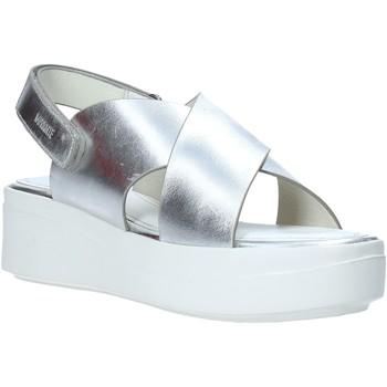 Παπούτσια Γυναίκα Σανδάλια / Πέδιλα Impronte IL01529A Ασήμι