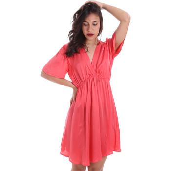 Υφασμάτινα Γυναίκα Κοντά Φορέματα Gaudi 011FD15061 Ροζ