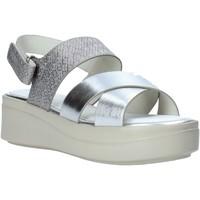 Παπούτσια Γυναίκα Σανδάλια / Πέδιλα Impronte IL01548A Ασήμι