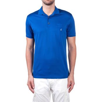 Υφασμάτινα Άνδρας Πόλο με κοντά μανίκια  Navigare NV72062 Μπλε