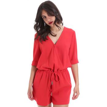 Υφασμάτινα Γυναίκα Ολόσωμες φόρμες / σαλοπέτες Gaudi 011BD25029 το κόκκινο