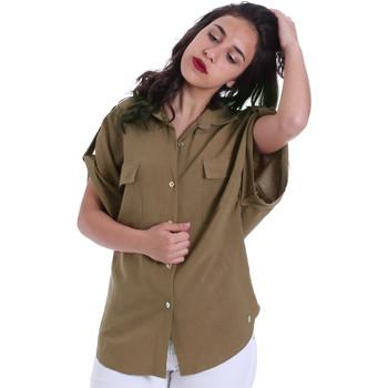 Υφασμάτινα Γυναίκα Πουκάμισα Gaudi 011BD45030 Πράσινος