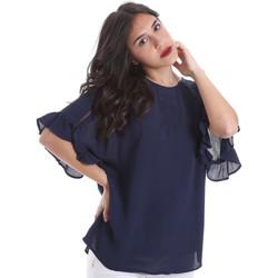 Υφασμάτινα Γυναίκα Μπλούζες Gaudi 011BD45015 Μπλε