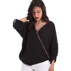 Υφασμάτινα Γυναίκα Μπλούζες Gaudi 011BD45026 Μαύρος