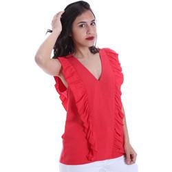 Υφασμάτινα Γυναίκα Μπλούζες Gaudi 011BD45031 το κόκκινο