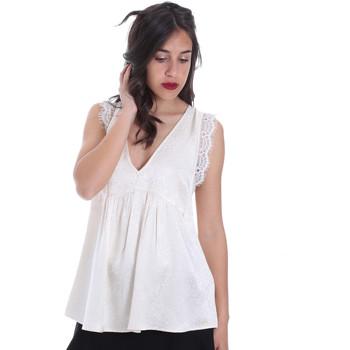 Υφασμάτινα Γυναίκα Μπλούζες Gaudi 011FD45026 Μπεζ