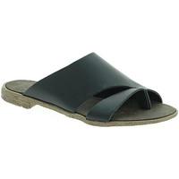 Παπούτσια Γυναίκα Τσόκαρα 18+ 6120 Μαύρος