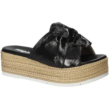 Παπούτσια Γυναίκα Τσόκαρα Pregunta IL02402-CL Μαύρος