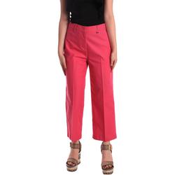 Υφασμάτινα Γυναίκα Παντελόνια Chino/Carrot Pepe jeans PL211023 Ροζ