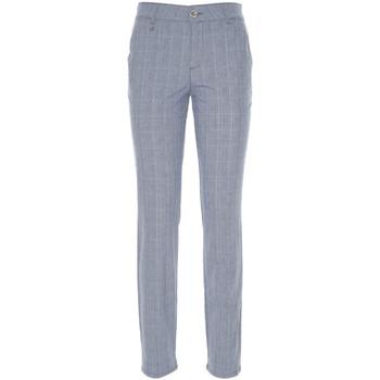 Υφασμάτινα Γυναίκα Παντελόνια Chino/Carrot NeroGiardini P860180D Μπλε