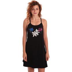 Υφασμάτινα Γυναίκα Κοντά Φορέματα Key Up 5G30L 0001 Μαύρος