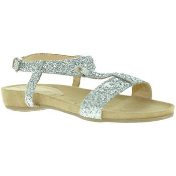 Παπούτσια Γυναίκα Σανδάλια / Πέδιλα Mally 4681 Ασήμι