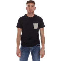 Υφασμάτινα Άνδρας T-shirt με κοντά μανίκια Sseinse ME1588SS Μπλε